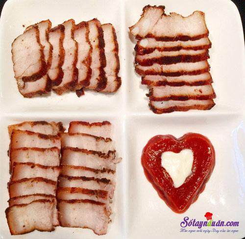 Cách làm thịt tẩm húng lìu áp chảo siêu ngon