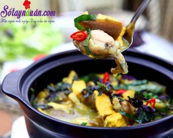Cách nấu món ếch om chuối đậu thơm ngon bổ dưỡng
