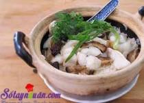 Cách làm cơm cá hấp nấm vị đậm đà khó quên