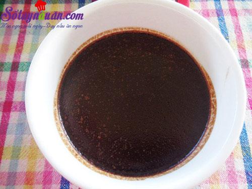 Hướng dẫn làm bánh flan chocolate thơm ngon đẹp mắt 4