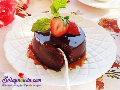 Hướng dẫn làm bánh flan chocolate thơm ngon đẹp mắt kết quả