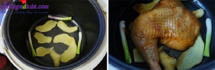 Hướng dẫn làm gà nướng mè siêu hấp dẫn bằng nồi cơm điện 4