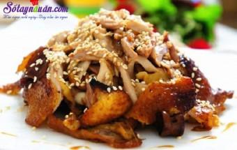 món ăn miền bắc, Hướng dẫn làm gà nướng mè siêu hấp dẫn bằng nồi cơm điện kết quả