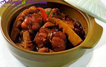 Nấu ăn món ngon mỗi ngày với Măng chua, Hướng dẫn làm món cá kho măng đặc biệt thơm ngon