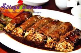 Nấu ăn món ngon mỗi ngày với Tiêu, Hướng dẫn làm món thịt bò cuốn nấm kim châm ngon tuyệt