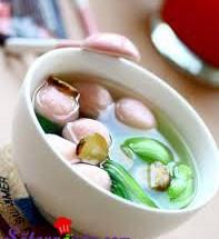Nấu ăn món ngon mỗi ngày với Rau cải, Hướng dẫn nấu canh cải cá viên đậm đà