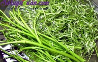Nấu ăn món ngon mỗi ngày với Giấm, Hướng dẫn nộm rau muống giòn ngon miễn chê 0