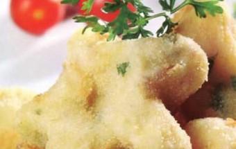 Nấu ăn món ngon mỗi ngày với Bột chiên xù, Cách làm khoai tây chiên thịt heo giòn ngon khó cưỡng