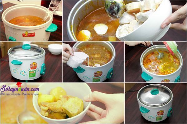 Kinh nghiệm nấu cà ri cay thơm ngon đậm đà đưa cơm 4