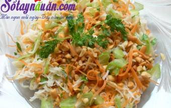 Nấu ăn món ngon mỗi ngày với Lạc rang, Nộm bắp cải cho ngày hè mát mẻ 4