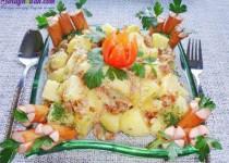 Hướng dẫn làm salad khoai tây tươi ngon, cực hấp dẫn