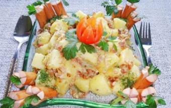 Nấu ăn món ngon mỗi ngày với Khoai tây, Hướng dẫn làm salad khoai tây tươi ngon, cực hấp dẫn