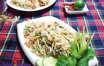 Nấu ăn món ngon mỗi ngày với Chanh tươi, Cách làm nộm xoài rau củ thanh mát ngày hè kết quả