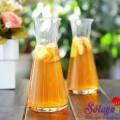 4 công thức nước detox cơ thể, Cách nấu trà trái cây thơm mát