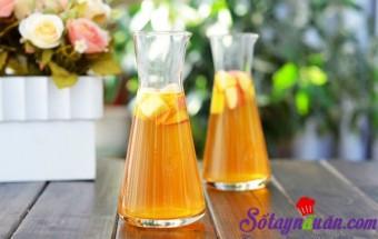 Nấu ăn món ngon mỗi ngày với Táo, Cách nấu trà trái cây thơm mát