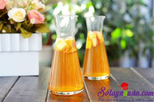 Cách nấu trà trái cây thơm mát