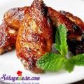 xôi gà, Bí quyết làm cánh gà nướng xì dầu và mật ong siêu ngon