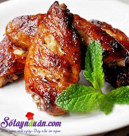 Bí quyết làm cánh gà nướng xì dầu và mật ong siêu ngon