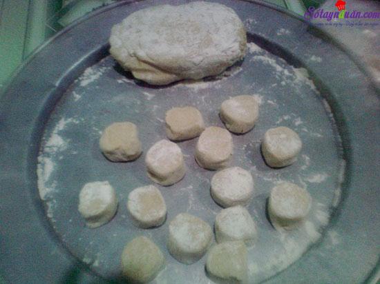 cách làm bánh tiêu 2