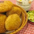 chuối chiên, cách làm bánh tiêu 5