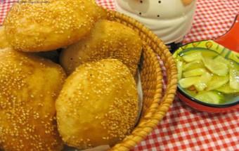 món ăn hà nội, cách làm bánh tiêu 5