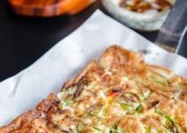 Cách làm món bánh xèo hải sản Hàn Quốc