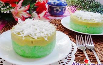 Nấu ăn món ngon mỗi ngày với Sữa đặc, Cách làm bánh xôi lá dứa cho bữa sáng 7
