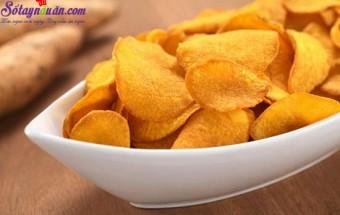 Nấu ăn món ngon mỗi ngày với Khoai tây, cách làm bim bim khoai tây 4