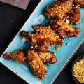 thịt nướng, cách làm cánh gà nướng hàn quốc 10