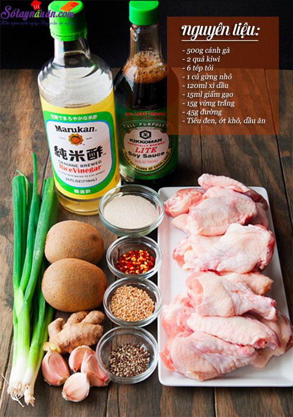 cách làm cánh gà nướng hàn quốc