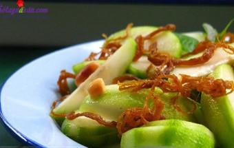 Nấu ăn món ngon mỗi ngày với Lạc rang, cách làm cóc dầm bò khô 6