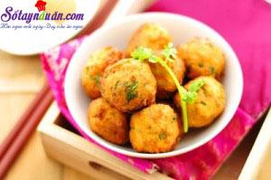 Nấu ăn món ngon mỗi ngày với Đậu phụ, cách làm đậu phụ viên chiên 4