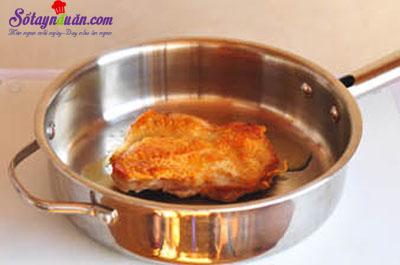 cách làm gà chiên xì dầu 4