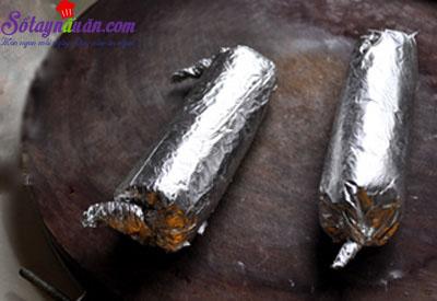 cách làm gà nướng giấy bạc  4