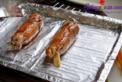 cách làm gà nướng giấy bạc  5