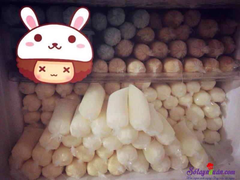 Cách làm kem sữa chua túi cực ngon và đơn giản tại nhà thành phẩm