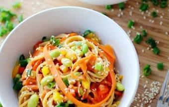 Nấu ăn món ngon mỗi ngày với Ớt chuông, cách làm mì trộn 7