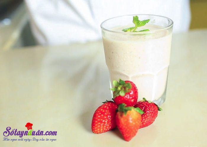 Cách làm sữa lắc với máy xay sinh tố thơm ngon bổ dưỡng kết quả