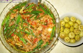 Nấu ăn món ngon mỗi ngày với Hành hoa, canh riêu cua 2