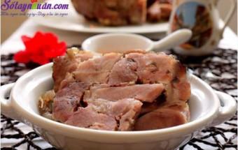Nấu ăn món ngon mỗi ngày với Thịt heo, Hướng dẫn làm thịt heo rô ti ngon tuyệt