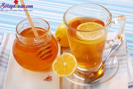 công thức pha nước chanh mật ong 1
