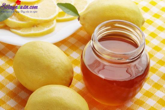 công thức pha nước chanh mật ong 2