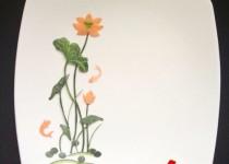 Mẹo trang trí đĩa ăn hình hoa sen đẹp mắt