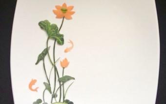 mẹo vặt, Mẹo trang trí đĩa ăn hình hoa sen đẹp mắt kết quả 1