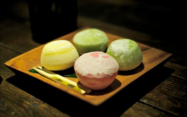 cách làm mochi nhân kem