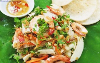 Nấu ăn món ngon mỗi ngày với Cổ hũ dừa, Cách làm gỏi cổ hũ dừa giòn ngon lạ miệng 8