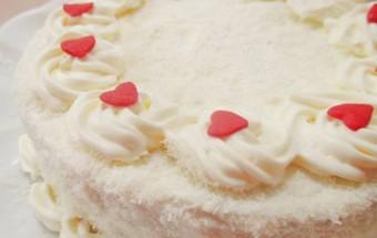 Bánh ngọt, Cách làm bánh gato kem dừa tặng bé nhân tết thiếu nhi 8