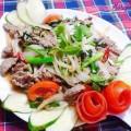 lẩu ếch, Cách làm thịt bê xào cần tỏi thơm ngon tuyệt hảo kết quả