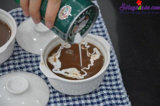 cách nấu chè đậu đỏ nước cốt dừa 6