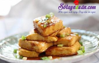 Nấu ăn món ngon mỗi ngày với Đậu phụ, Bí quyết làm đậu phụ om trứng ngon mê ly kết quả